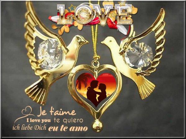Montages images  St Valentin