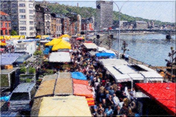 Notre marché de la Batte ( poésie)