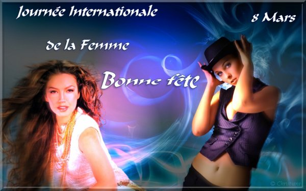 8 Mars ... Journée Internationale de la Femme