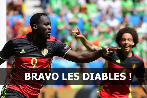 Belgique -Irlande Football