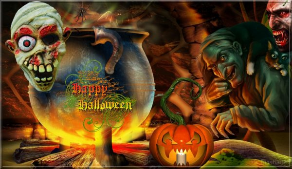 Mes Montages pour Halloween