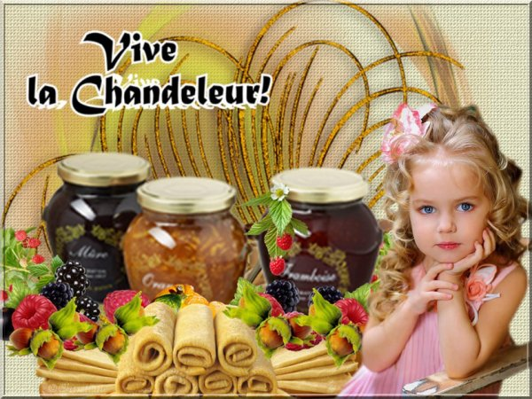 La Chandeleur on mange des crêpes