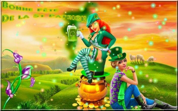 Célébrez la Saint Patrick