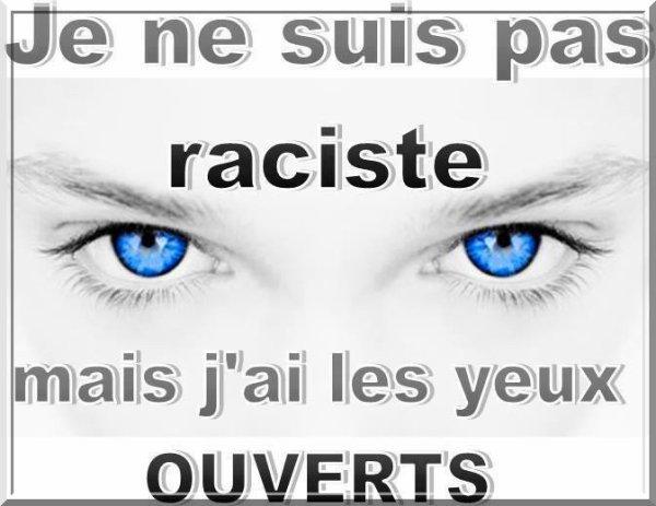 Je ne suis pas raciste mais j'ai ouvert les yeux