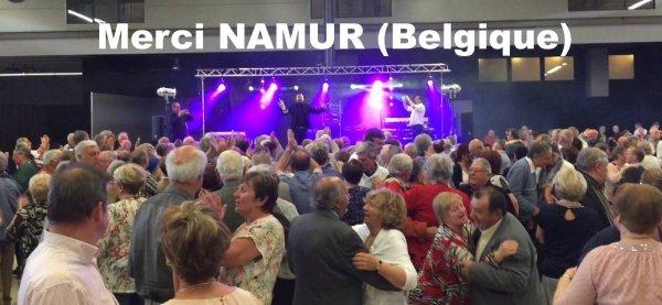 Bruno Djarane chante à Namur expo - Belgique