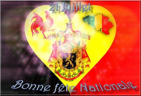 Bonne fête nationale à tous les belges