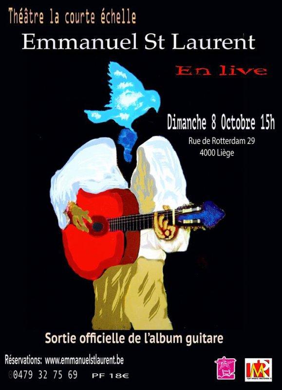 Emmanuel St Laurent en Live