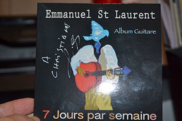 Emmanuel St Laurent à la courte échelle à Liège