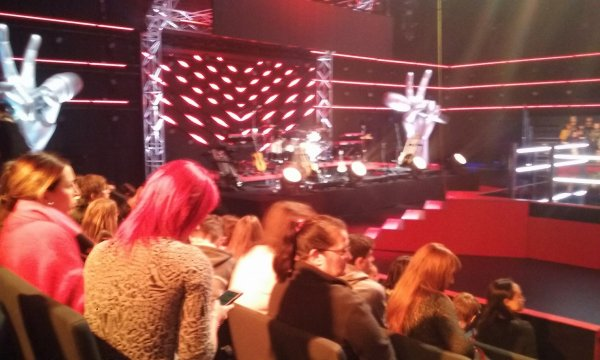 Enregistrement Duel the voice Belgique