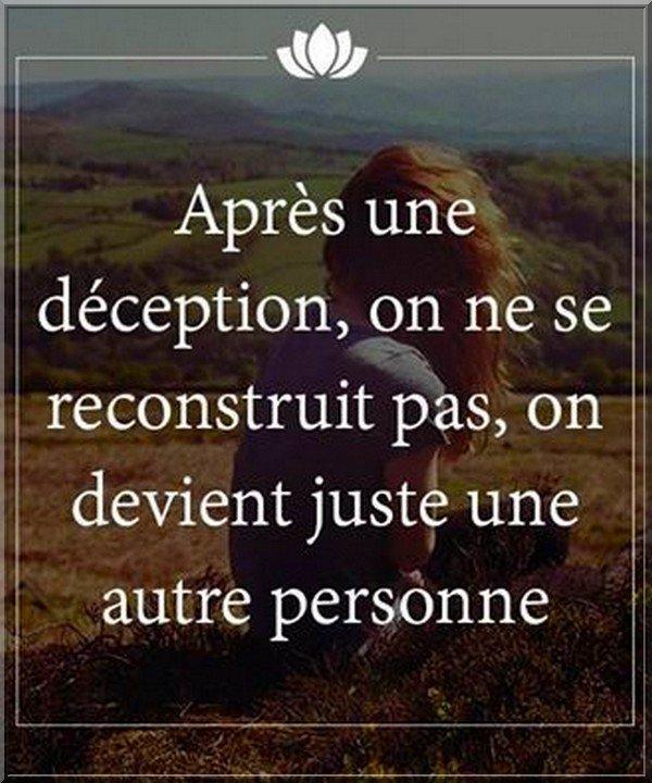 Dans la vie ...