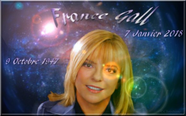 France Gall a rejoint le paradis des étoiles