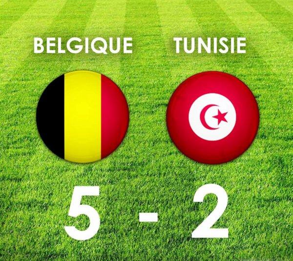 BELGIQUE-TUNISIE MONDIAL 2018