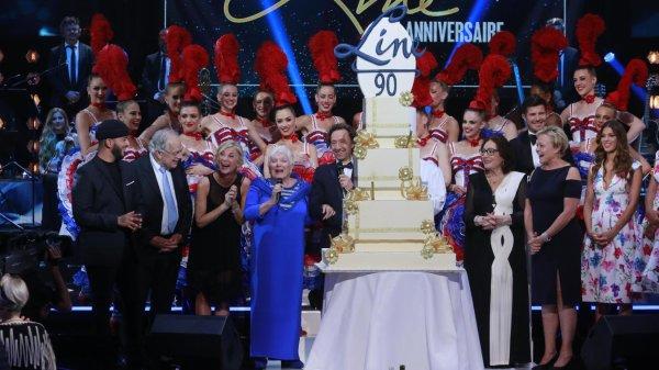 Anniversaire de Line Renaud  ... 90 ans