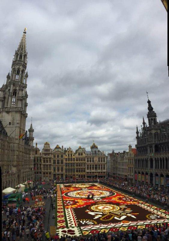 Tapis de Fleurs 2018 à Bruxelles -Belgique