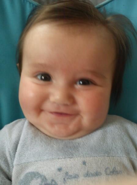 mon petit fils a 6 mois