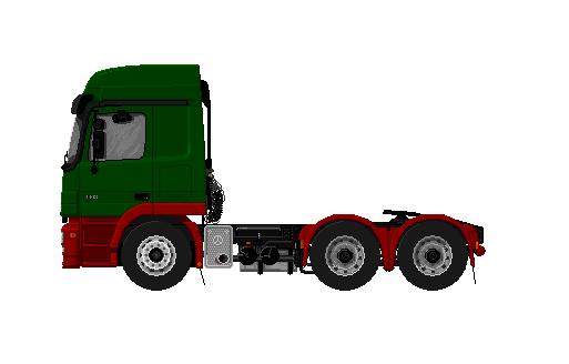 Mercedes Actros Tractor Unit Steve S Pics