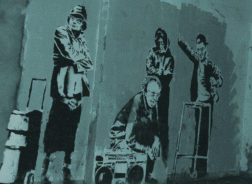 Banksy - People