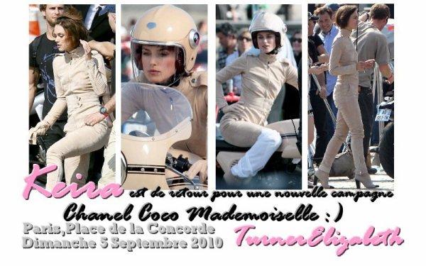 Keira de nouveau pour Chanel :)