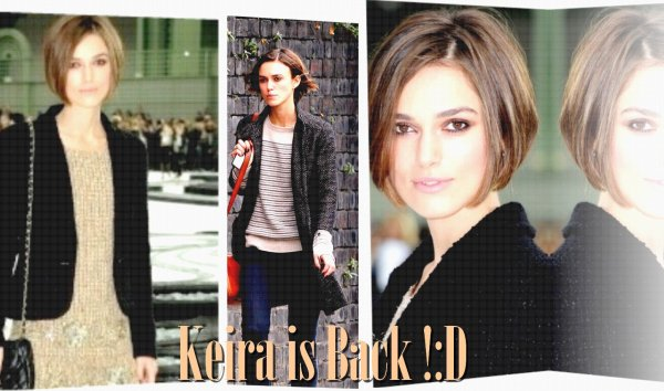 Keira is Back