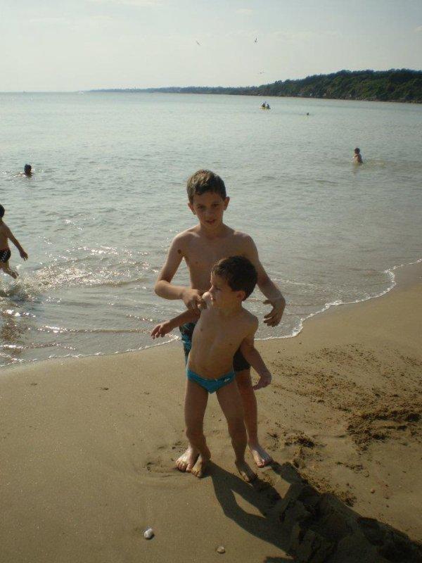 Moi et le petit frére :)
