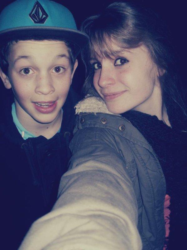 Moi et la cousine. ;)