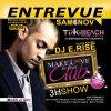 Samedi 6 Novembre DJ ERISE au Tikki beach pour une soirée entrevue ! (AURILLAC)