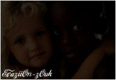 Article # 1 -______________________ Le racisme fatigue,  ______________________ --Pourquoi --juger-- une personne --par sa --couleur --de peau !? ----Noir --ou --Blanc, ----rouge-- est la ----couleur --de nos --sang. ----Vivre --en --harmonie, --confronté nos --cultures, --cultivé nos --différences de-- peaux --pour en faire --un --monde plus --beau --et --montrer a l'avenir-- que le --passé est --enterré, que-- toutes-- les origines --peuvent se --s'entendre --et vivre --en paix ..  EvaziiOn-zOuk -- L'e___m'é't'i's's'a'g'e___e's't__l'a'v'e'n'i'r__d'e__c'e __m'o'n'd'e..   EvaziiOn-zOuk EvaziiOn-zOuk EvaziiOn-zOuk