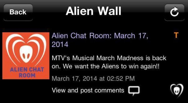 BTK APP  Alien Chat Room