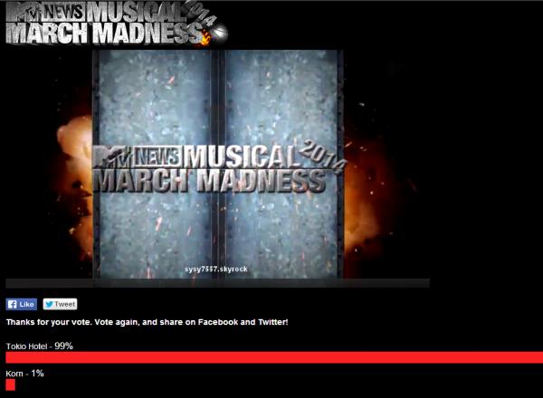 1er Tour MMM-Korn vs Tokio Hotel