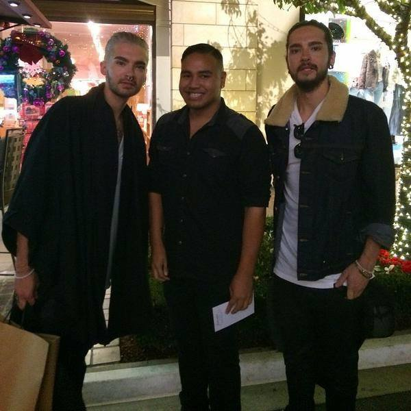 Photo Bill et Tom à Los Angeles avec des fans (09.12.2014)