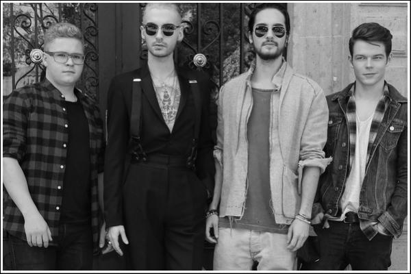 Dallas interview Tokio Hotel par téléphone pour la radio « Live 105 » (8.01.15)