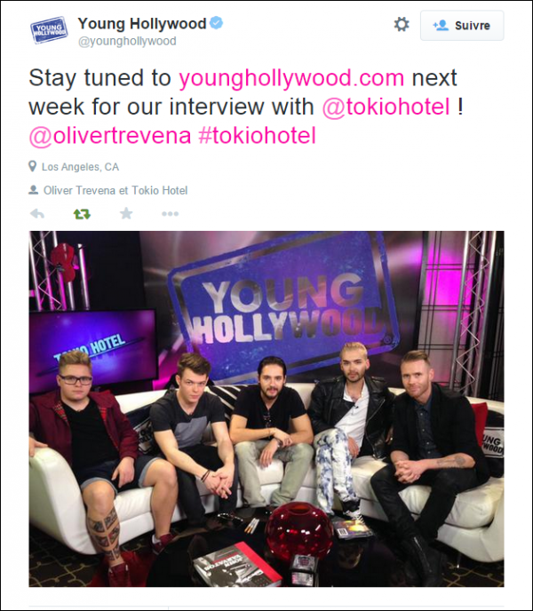 Twitter Young Hollywood