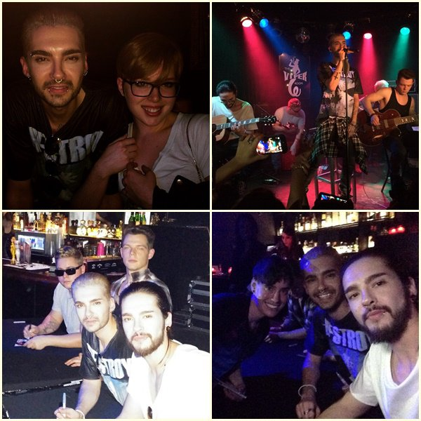 """Concert de Tokio Hotel au """"Viper Room"""" à L.A 15.01.2015"""