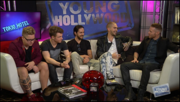 "Traduction ""Young Hollywood"" Tokio Hotel"