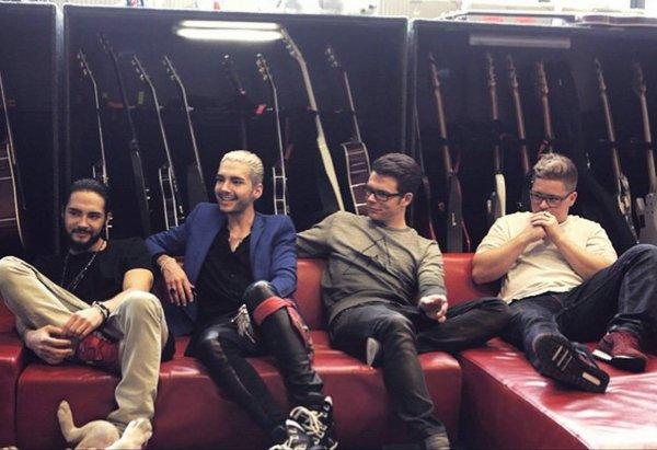 Superior Magazine – Le conte de fées «Tokio Hotel»