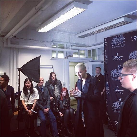 "Tokio Hotel ""Islington Assembly Hall"" avec les fans, Londres 06.03.2015!"