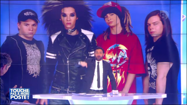 Tokio Hotel dans TPMP
