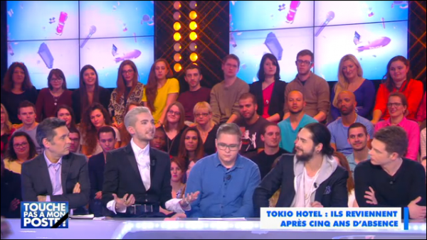Tokio Hotel chez TPMP