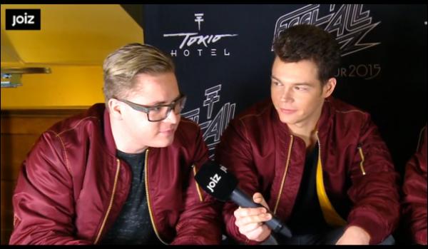 JOIZ – Interview intime (littéralement !) avec Tokio Hotel (4)