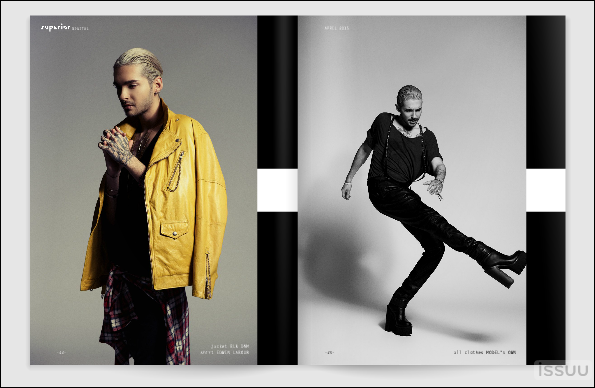 "Bill dans ""Superior Magazine"""