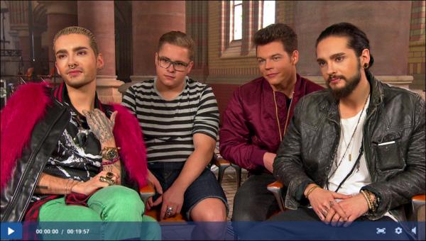 NDR.de – De retour à la maison : Interview avec Tokio Hotel