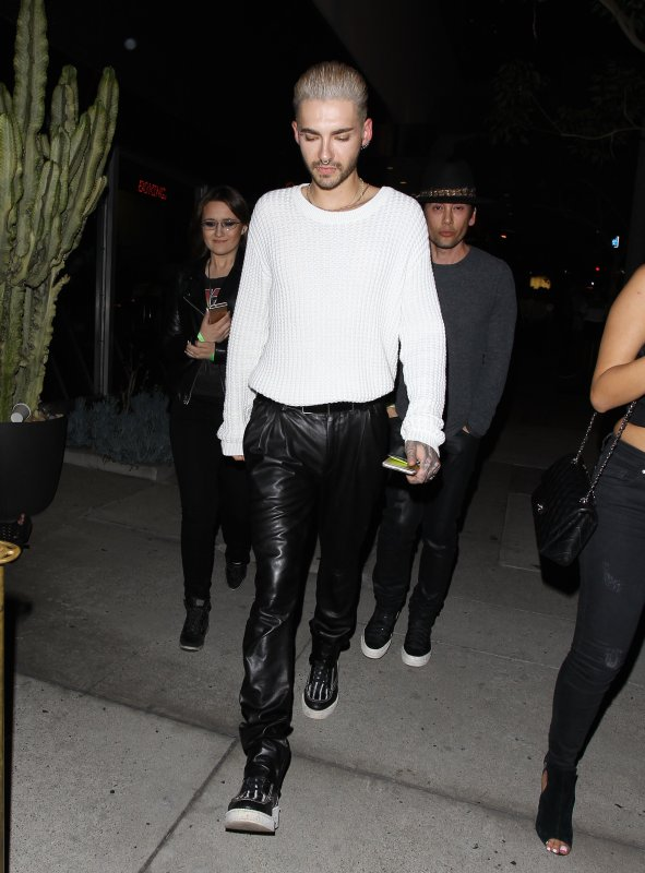 Bill sortant du Bootsy Bellows à West Hollywood, aux USA (14.07.15)