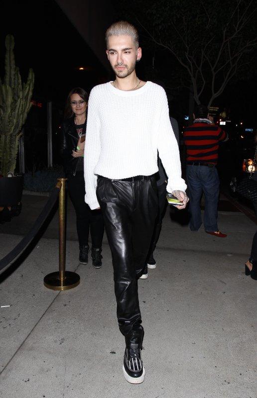 Bill sortant du Bootsy Bellows à West Hollywood, aux USA (14.07.15)