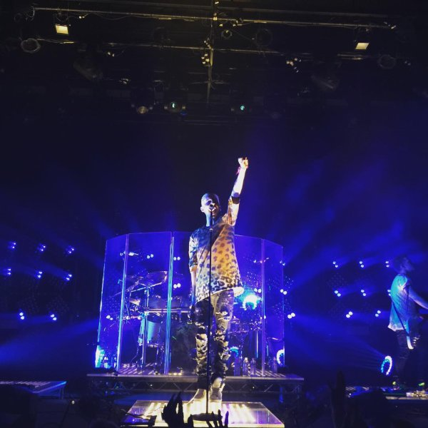 Tokio Hotel Live à The Fillmore  San Francisco, USA -27.07.2015