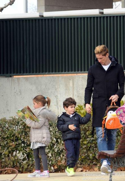fernando torres et sa famille