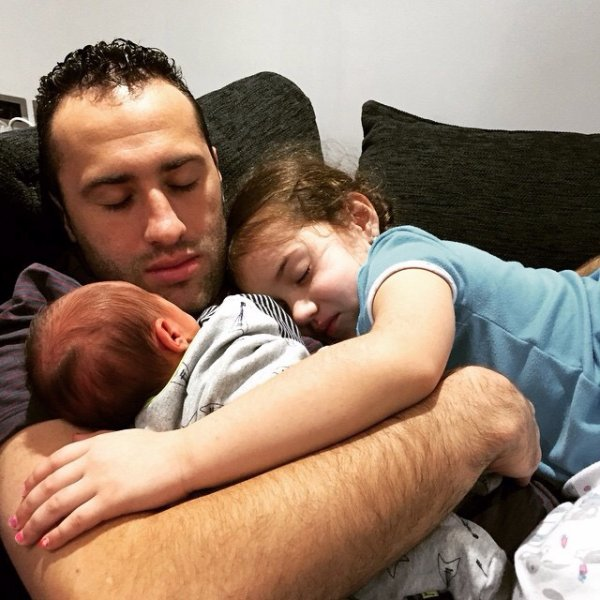 david ospina et sa famille