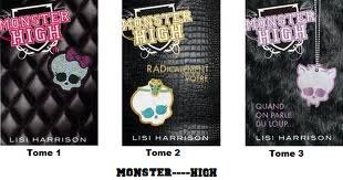 Livre monster high