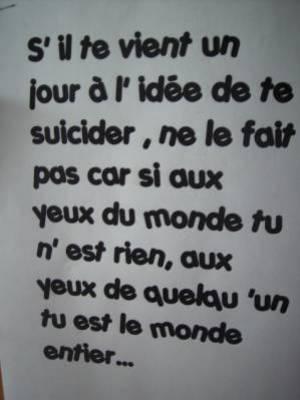 :o  Te suicide pas  :o
