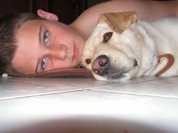 moi et mon caniche!!!!!!!!!!!