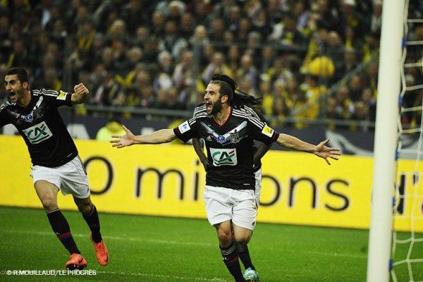Lyon remporte la Coupe de France 2012